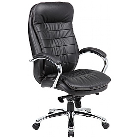 Siena Leather Executive Office Chairs £155 - Office Chairs