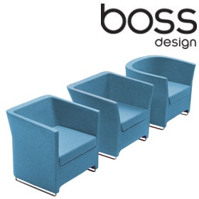 Boss Design Tom Dick & Harry Tub Chairs £682 - Reception Furniture
