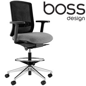 Boss Design Vite Cashier Chair Draughtsman Chairs