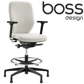 boss design lily draughtsman chair draughtsman chairs