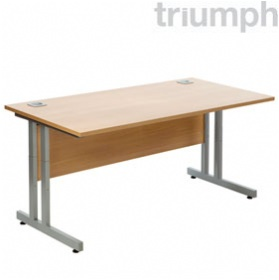 Triumph Everyday Essential Height Adjustable Rectangular Desks £206 - Office Desks
