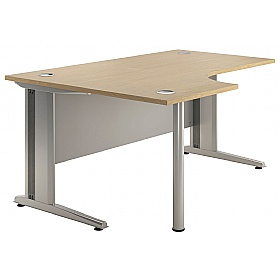 NEXT DAY Aura Ergonomic Desks £216 - Next Day Office Furniture