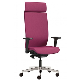 Pledge Kind Full Back Executive Chair With Height Adjustable Arms