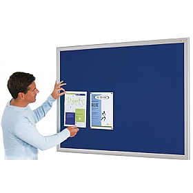 Eco-Friendly Aluminium Effect Frame Noticeboards £28 - Display/Presentation