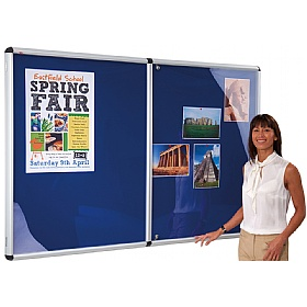 Shield® Resist-A-Flame Aluminium Frame Tamperproof Noticeboards £129 - Display/Presentation