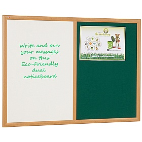 Eco-Friendly Dual Noticeboards £44 - Display/Presentation