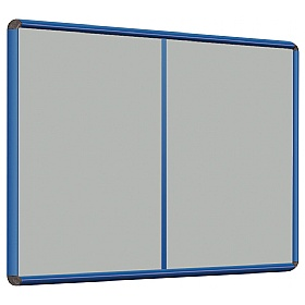 Shield® Coloured Frame Multibank Noticeboards £97 - Display/Presentation