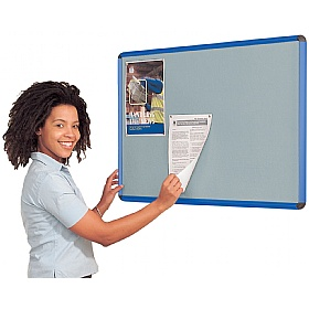 Resist-a-Flame Coloured Frame Shield Noticeboard £65 - Display/Presentation