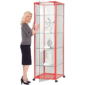 Shield® Tower Display Cabinet £991 - Display/Presentation