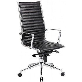 Abbey High Back Leather Office Chairs £145 - Office Chairs