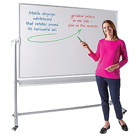 Write-on Economy Revolving Whiteboard £137 - Display/Presentation