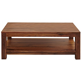Fernhurst Solid Walnut Open Coffee Table £263 - Home Office Furniture