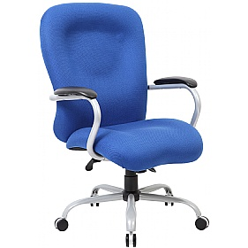 Fortis 27 Stone Heavy Duty 24 Hour Fabric Manager Chair £164 - Office Chairs