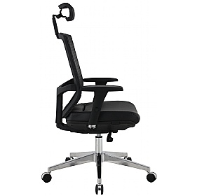 Eve 24/7 Ergonomic Mesh and Leather Task Chair
