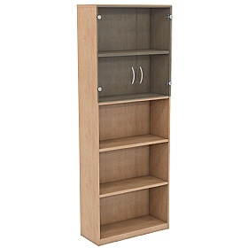 NEXT DAY Infinite 4 Shelf Unit - Combination 5 £288 - Office Cupboards