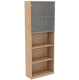 NEXT DAY Infinite 4 Shelf Unit - Combination 9 £305 - Office Cupboards