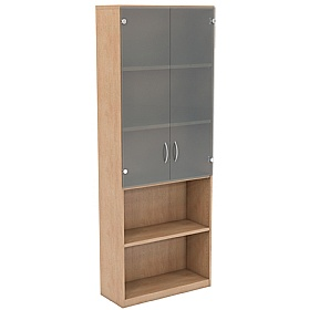 NEXT DAY Infinite 4 Shelf Unit - Combination 10 £305 - Office Cupboards