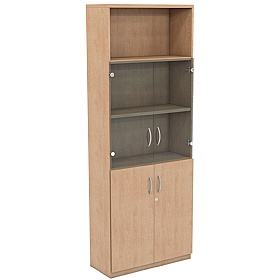 NEXT DAY Infinite 4 Shelf Unit - Combination 14 £363 - Office Cupboards