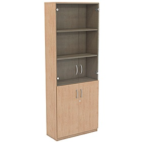NEXT DAY Infinite 4 Shelf Unit - Combination 15 £338 - Office Cupboards