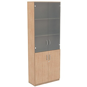 NEXT DAY Infinite 4 Shelf Unit - Combination 17 £354 - Office Cupboards