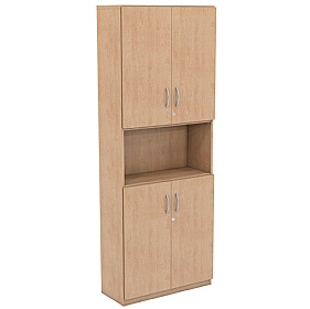 NEXT DAY Infinite 4 Shelf Unit - Combination 18 £307 - Office Cupboards