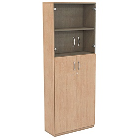NEXT DAY Infinite 4 Shelf Unit - Combination 20 £352 - Office Cupboards