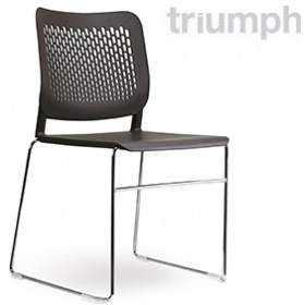 Triumph Malika Skid Base Visitor Chair £78 - Office Chairs