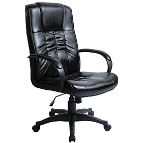 Turin Leather Faced Manager Chair fice Chairs