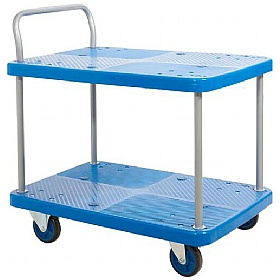 Two Tier Plastic Trolley £205 - Premises Management