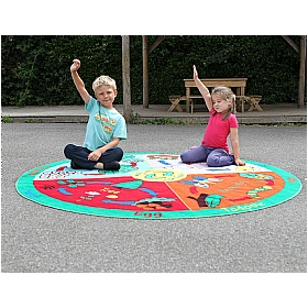 Back to Nature Life Cycles Outdoor Play Mat