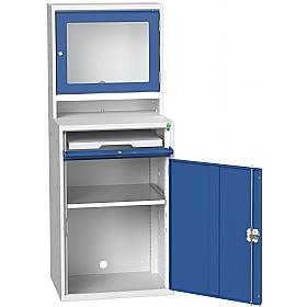 Bott Verso Tft Computer Cupboard 650w X 1650h Computer Cupboards