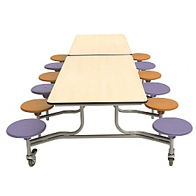 Classic Rectangular Mobile Dining Units £0 - Education Furniture