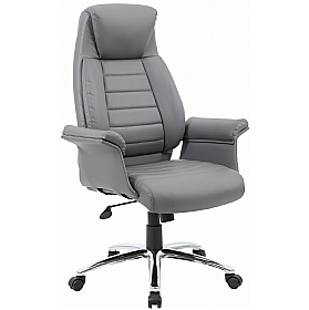 Jersey Executive Leather Faced Office Chairs ...