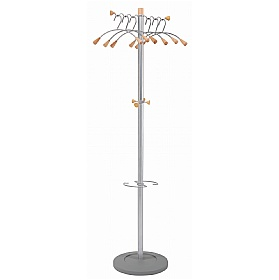 Wavy Coat and Bag Stand £116 - Reception Furniture