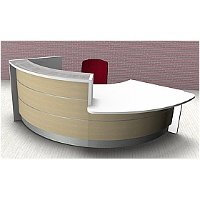 Celsius Curve DDA Reception Desk