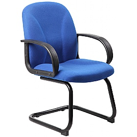 Perth Ergo Fabric Visitor Chairs £59 - Office Chairs