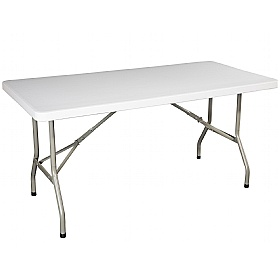Atlantic Rectangular Poly Folding Tables £0 -