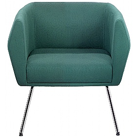 Sven HB1L 4 Leg Fabric Reception Chairs £457 - Reception Furniture