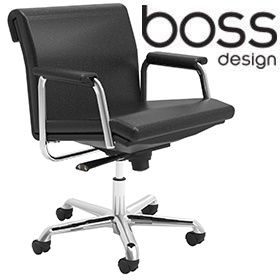 Boss Design Delphi Low Back Swivel Chair £440 - Office Chairs