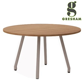 Gresham Script Round Meeting Tables £200 - Meeting Room Furniture
