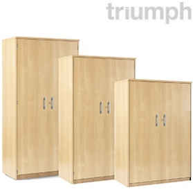 Triumph Everyday Double Door Stationery Cupboards