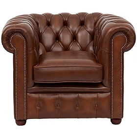 Antique Chesterfield Chair £679 - Home Office Furniture