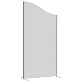 Lumiere Wave Glazed Freestanding Partition Screens £0 -