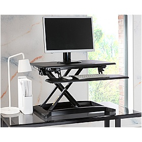 Height Adjustable Desktop Riser £0 -