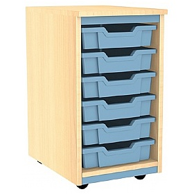Splash Single Column 6 Tray Storage Unit £0 -