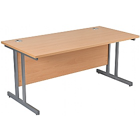 NEXT DAY Karbon K3 Rectangular Deluxe Cantilever Desk
