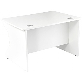 NEXT DAY Karbon K4 Rectangular Panel End Desks
