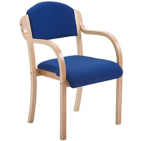 Devonshire Wooden Frame Stacking Armchairs