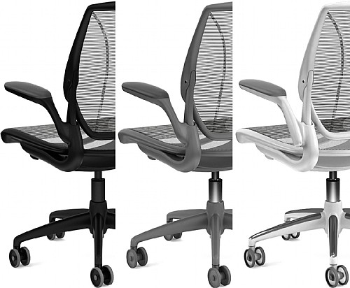 Humanscale Diffrient World Task Chair Fabric Manager