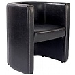 Cardiff Leather Look Tub Chair
